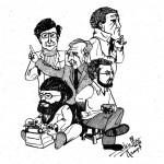 25th Reunion cartoon