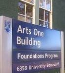 Arts One sign