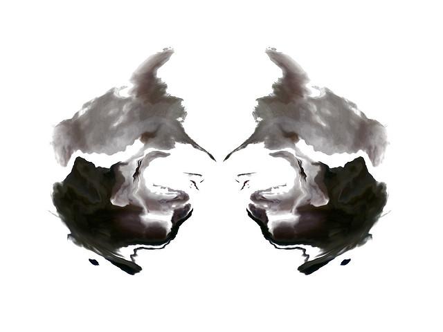 image of Rorschach inkblot