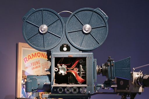 3-strip Technicolor camera, from Wikimedia Commons