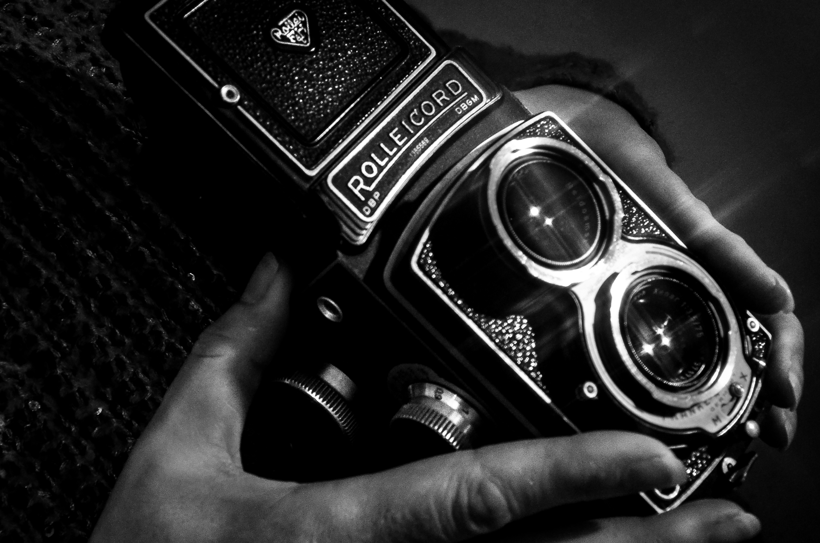 Picture of old Rolleicord camera
