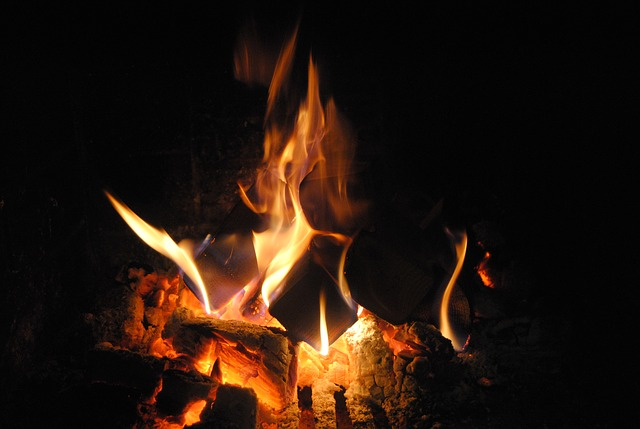 picture of campfire