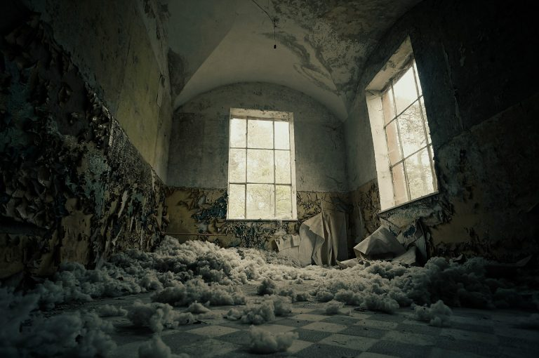 abandoned building, from Pixabay