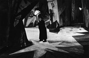 screen shot of street scene in the film
